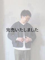 【再入荷】allinone(オールインワン) BAGGAROO imago-ノーカラージャケット- ブラック