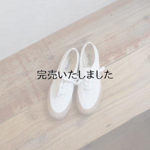 画像1: ASAHI(アサヒ) DECK-デッキシューズ-レディース ホワイト/ベージュ
