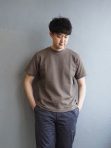 Blurhms(ブラームス) ROOTSTOCK Rough & Smooth Thermal Regular Fit S/S アッシュカーキ