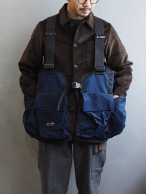 画像1: BATTLE LAKE OUTDOORS(バトルレイク) GAME VEST MIDNIGHT