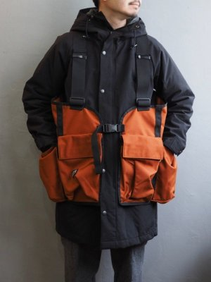 画像1: BATTLE LAKE OUTDOORS(バトルレイク) GAME VEST RUST