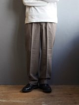 ENDS and MEANS(エンズアンドミーンズ) 2tac Grandpa Trousers ブラウン