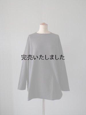 画像1: jujudhau(ズーズーダウ) BIG SWEAT-ビッグスウェット- スウェットグレー(裏毛)