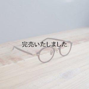 画像1: kearny eye wear(カーニーアイウェア) susan バーガンディー(クリアレンズ)