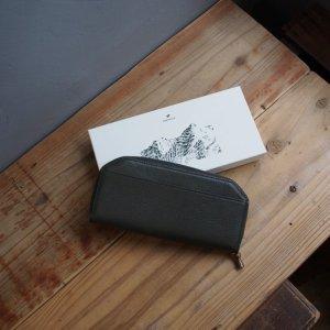 画像1: POSTALCO(ポスタルコ) Kettle Zipper Wallet Long-ケトルジッパーウォレット-ロング Moss Green