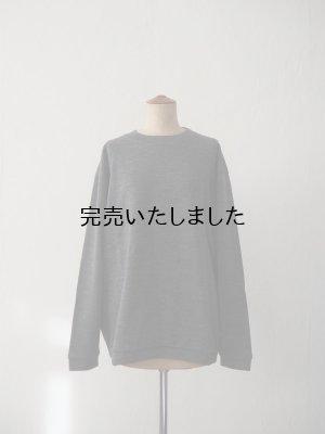 画像1: Style Craft Wardrobe(スタイルクラフトワードローブ) T-SWEATER(WOOL RIB) グレー