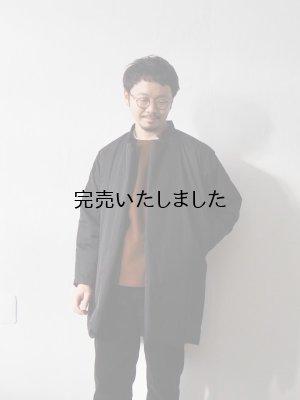 画像1: Style Craft Wardrobe(スタイルクラフトワードローブ) WADDED COAT BLACK